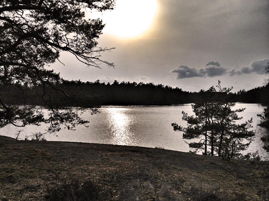Solen över vidsjön