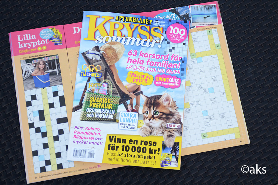 Aftonbladets Kryss sommar