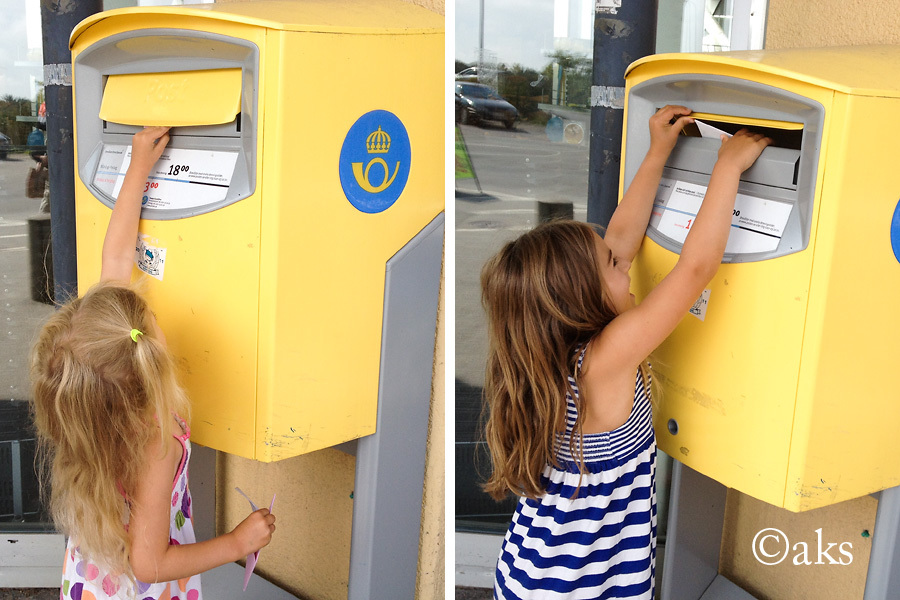 Kalasinbjudan postas