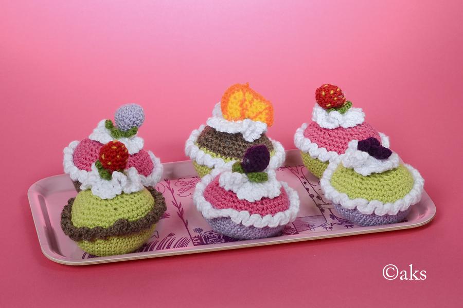 Virkade muffins