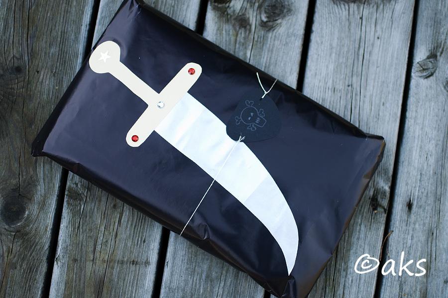 Paket till piratkalas