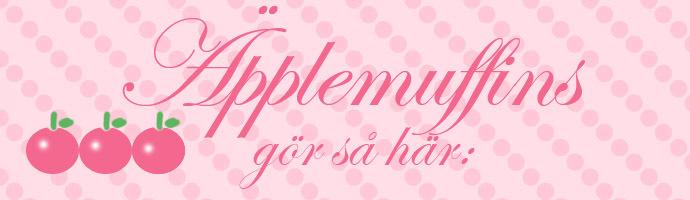 Äpplemuffins banner