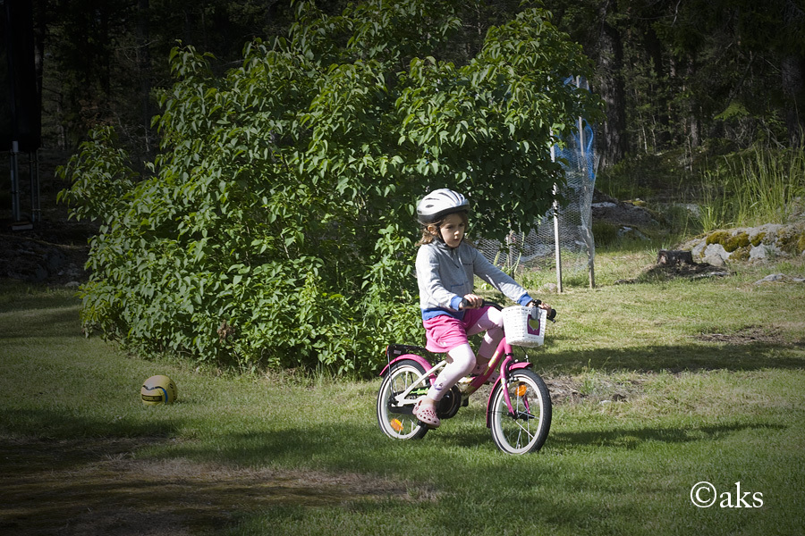 Cykla utan stödhjul