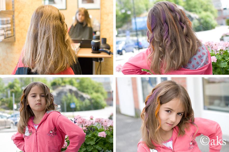 Storasysters nya frisyr