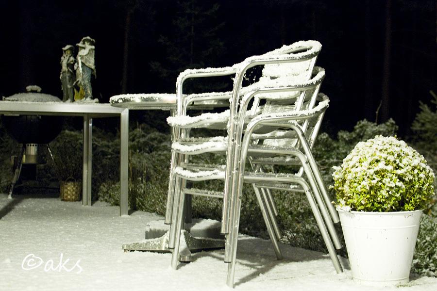 första snön 2012