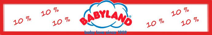 babyland 10% rabatt